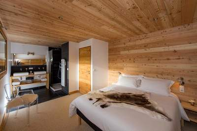 Chalet Wanaka - poteaux - poutres - photo - j.rambaud
